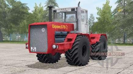 Kirovets Ꞣ-710 for Farming Simulator 2017