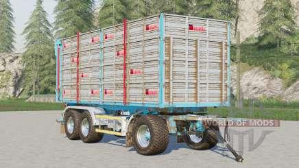 Adurante trailer〡selectable wheels brand for Farming Simulator 2017
