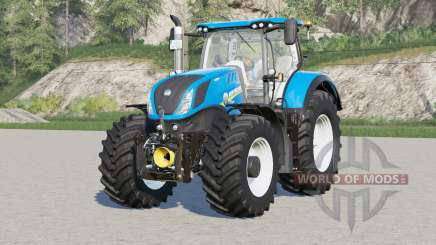 New Holland T7 series〡rims color choice for Farming Simulator 2017
