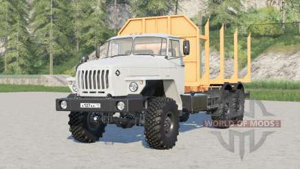 Ural-4320-60 6x6 assortment carrier for Farming Simulator 2017