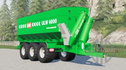 Hawe ULW 4000〡washable for Farming Simulator 2017