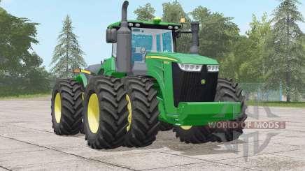 John Deere 9R series〡wheels selection for Farming Simulator 2017