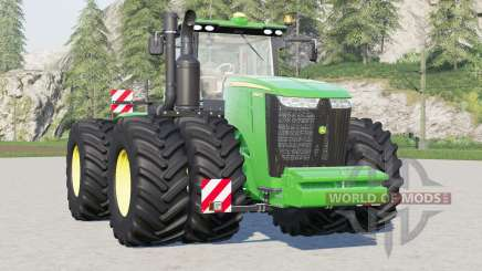 John Deere 9R series〡different wheel options for Farming Simulator 2017
