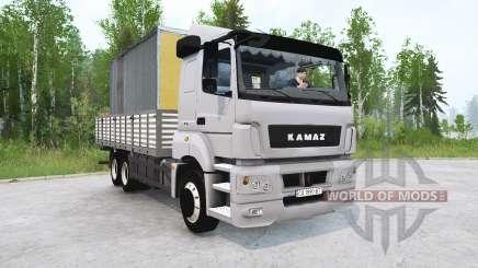 KAMAZ-65207 v4.0 for MudRunner