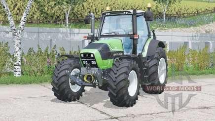 Deutz-Fahr 6190 TTV Agrotron〡movable front axle for Farming Simulator 2015