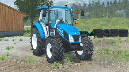 New Holland T4.75 for Farming Simulator 2013