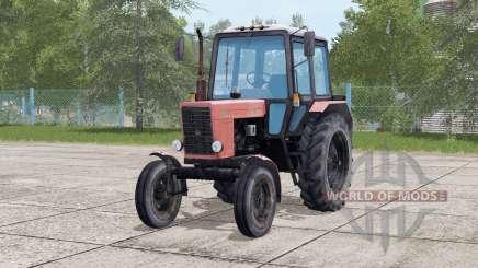 MTZ-80.1 Belarus 41interactive management for Farming Simulator 2017