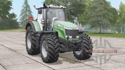 Massey Ferguson 8700 series〡increased worklight range for Farming Simulator 2017