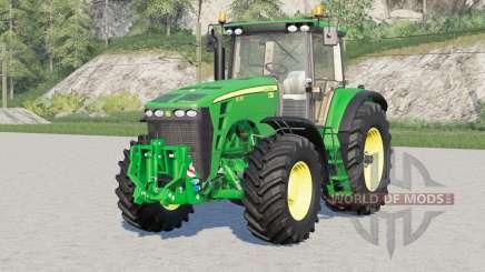 John Deere 8030 series〡engine selection for Farming Simulator 2017