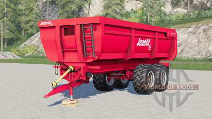 Jeantil GM 180〡wheel configurations for Farming Simulator 2017
