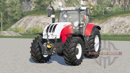 Steyr 6000 CVT〡engine selection for Farming Simulator 2017