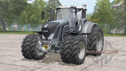 Fendt 900 Vario〡narrow twin tire set for Farming Simulator 2017
