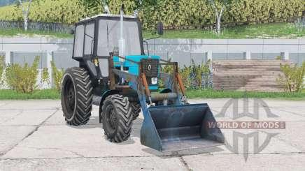 MTZ-82.1 Belarus with front loader for Farming Simulator 2015