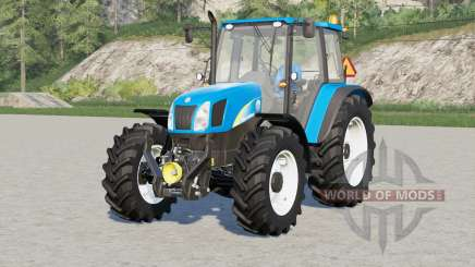 New Holland T5000 series〡engine selection for Farming Simulator 2017