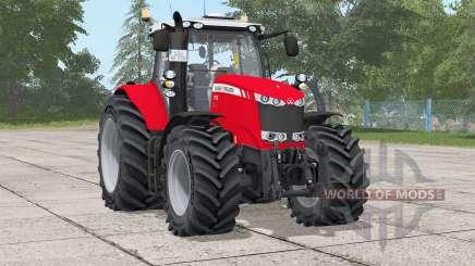 Massey Ferguson 7700 series〡frontloader support for Farming Simulator 2017