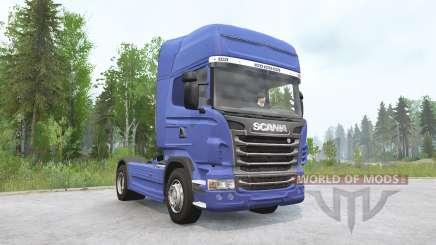 Scania R730 4x4 Topline 2009 v3.0 for MudRunner