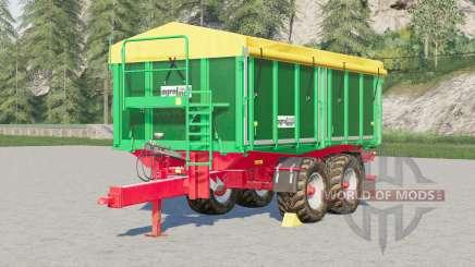 Kroger Agroliner TKD 302〡configurable tires for Farming Simulator 2017