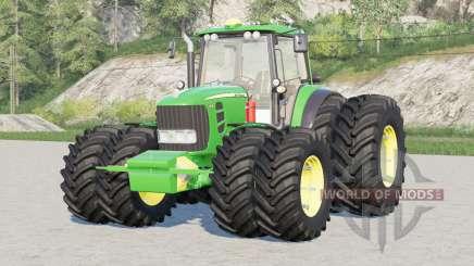 John Deere 7030 Premium〡double wheels for Farming Simulator 2017