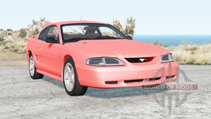 Ford Mustang GT coupe 1996 v1.0 for BeamNG Drive