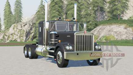 Kenworth W900A Flat Top 1974〡exhaust configs for Farming Simulator 2017