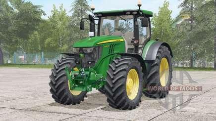 John Deere 6R series〡change all textures for Farming Simulator 2017