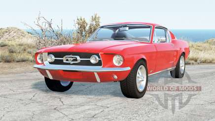 Ford Mustang GT-A Fastback 1967 for BeamNG Drive