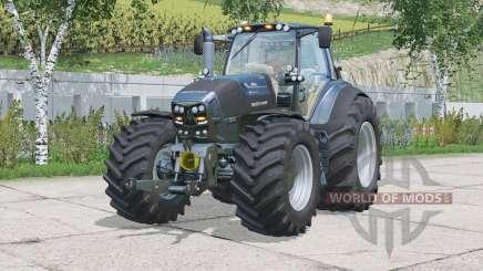 Deutz-Fahr 7250 TTV Warrior〡seat suspension for Farming Simulator 2015