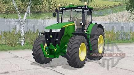 John Deere 7310R〡adjustable mirrors for Farming Simulator 2015