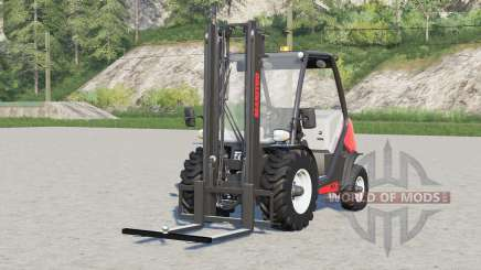 Manitou MC 18-4〡with hitch on forks for Farming Simulator 2017