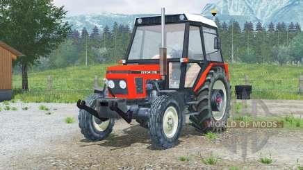 Zetor 7711〡opening doors for Farming Simulator 2013