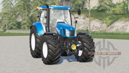New Holland T6 series〡Michelin tyres for Farming Simulator 2017