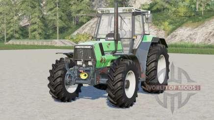 Deutz-Fahr AgroStar 6.61〡rusty tractor for Farming Simulator 2017