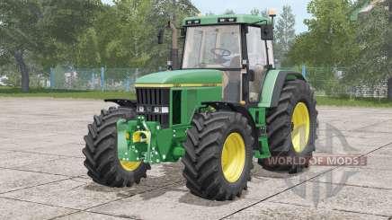 John Deere 7010 series〡engine selection for Farming Simulator 2017