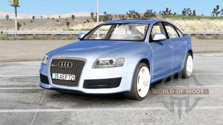 Audi RS 6 sedan (C6) 2008 v2.0 for American Truck Simulator