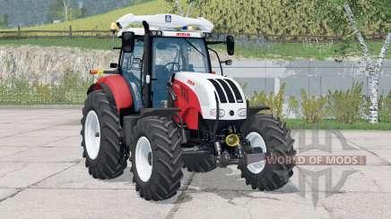 Steyr 6180 CVT〡regulagem do volante for Farming Simulator 2015