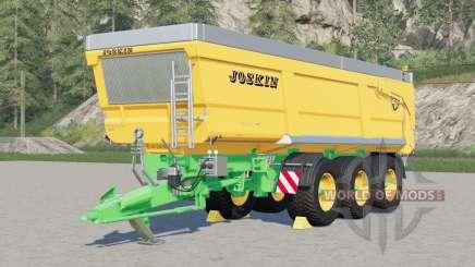 Joskin Trans-Space 8000〡increased dump speed for Farming Simulator 2017