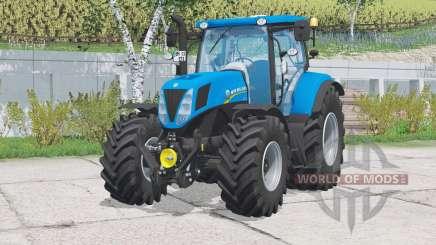 New Holland T7.170〡warning light for Farming Simulator 2015