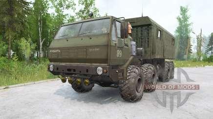 KrAZ-7E6316 Siberia for MudRunner