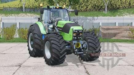 Deutz-Fahr 7250 TTV Agrotron〡wheel weights for Farming Simulator 2015