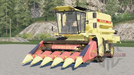 New Holland TX32〡two headers for Farming Simulator 2017