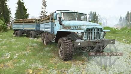 Ural-375D for MudRunner
