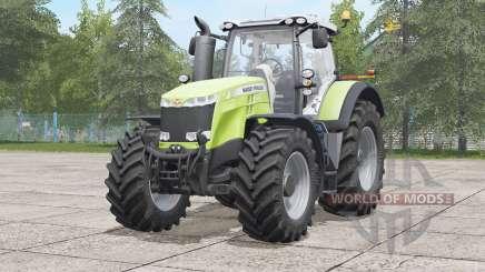 Massey Ferguson 8700 series〡visual extras for Farming Simulator 2017