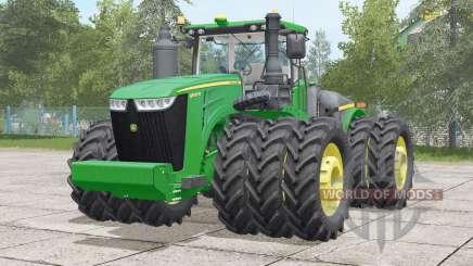 John Deere 9R series〡visual extras for Farming Simulator 2017