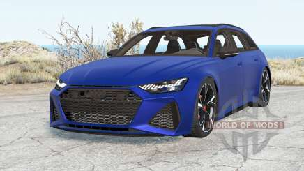 Audi RS 6 Avant (C8) 2019 v2.0 for BeamNG Drive