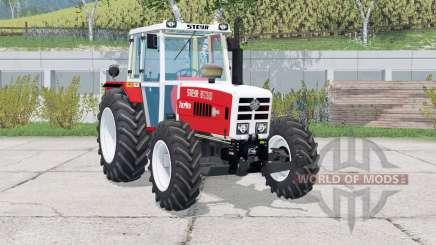 Steyr 8130A Turbo〡animated wiper for Farming Simulator 2015