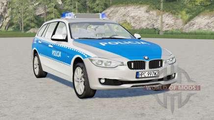 BMW 318d Touring (F31) 2015〡Policja for Farming Simulator 2017