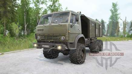 KAMAZ-4310〡 have various animations for MudRunner