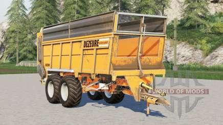 Dezeure Silocruiser SW43〡minor bugs fixed for Farming Simulator 2017