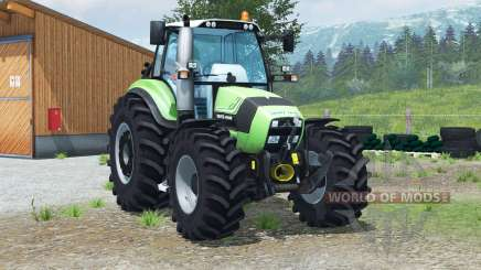 Deutz-Fahr Agrotron TTV 430〡handbrake for Farming Simulator 2013