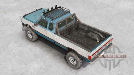 Dodge Power Ram 250 Club Cab 1990 v1.2 for Spin Tires